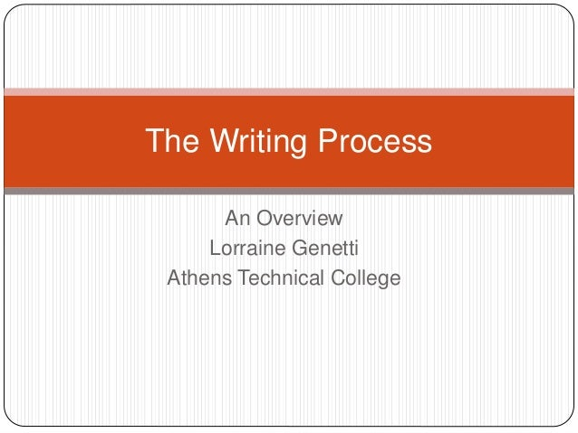 writing an overview