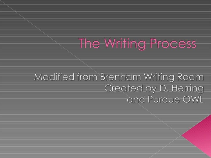 the writing process revising