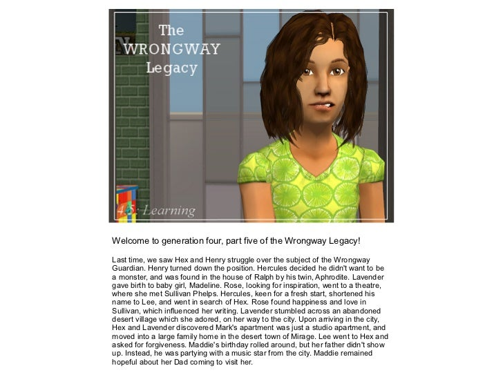 The Wrongway Legacy: 4.5