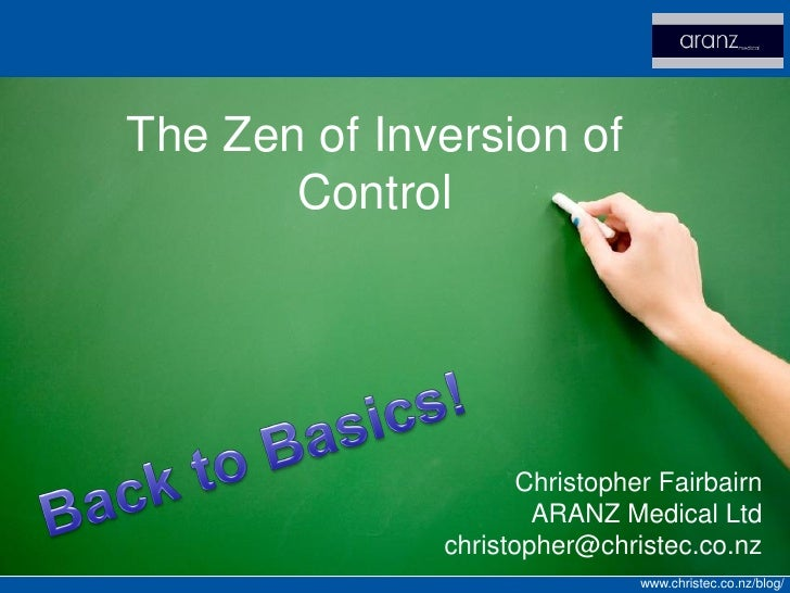 The Zen of Inversion of Control