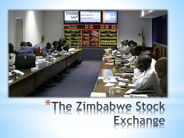 The zimbabwe stock exchange