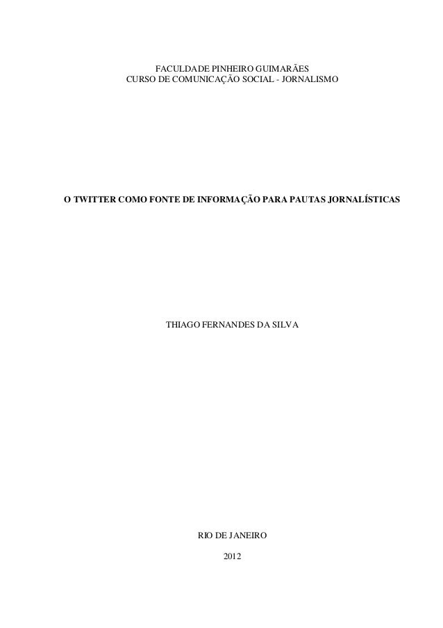 Thiago silva   monografia - redes sociais