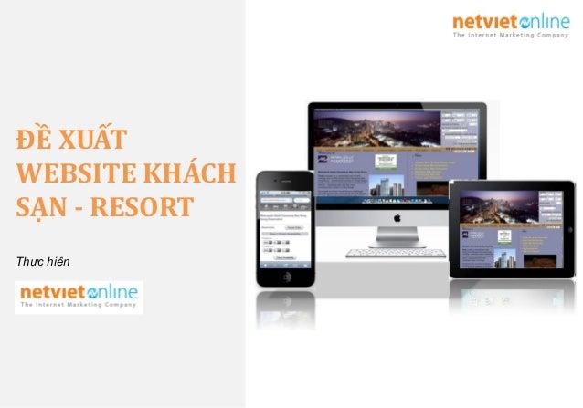 Thiết kế website khách sạn - Hotel Web design