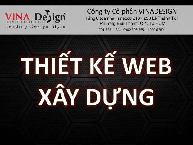 Thiet ke web xay dung