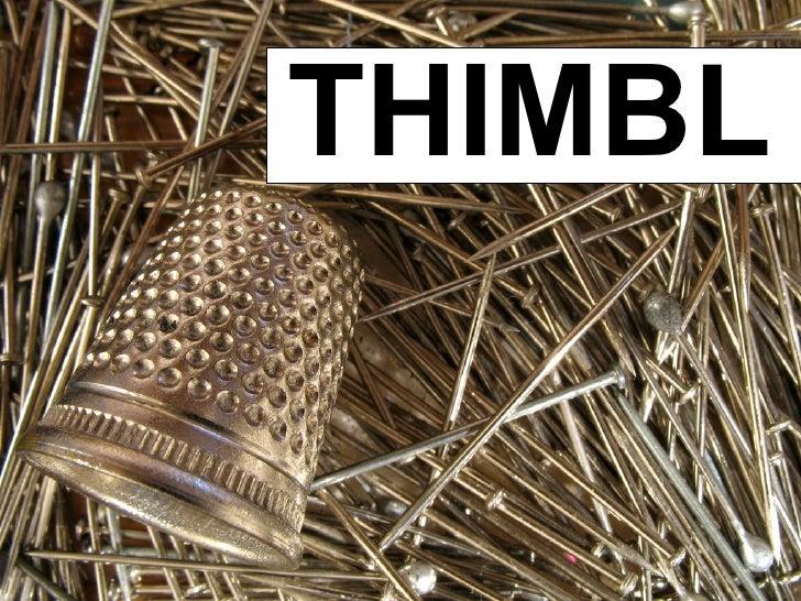 Thimbl: decentralised, open source, micro-blogging