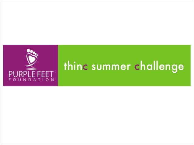 thinc Summer Challenge