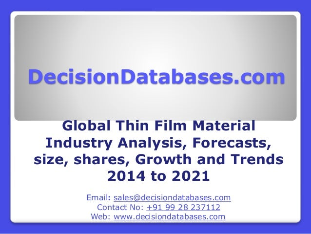 thin films thesis