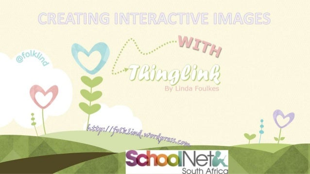 Creating Interactive links with Thinglink