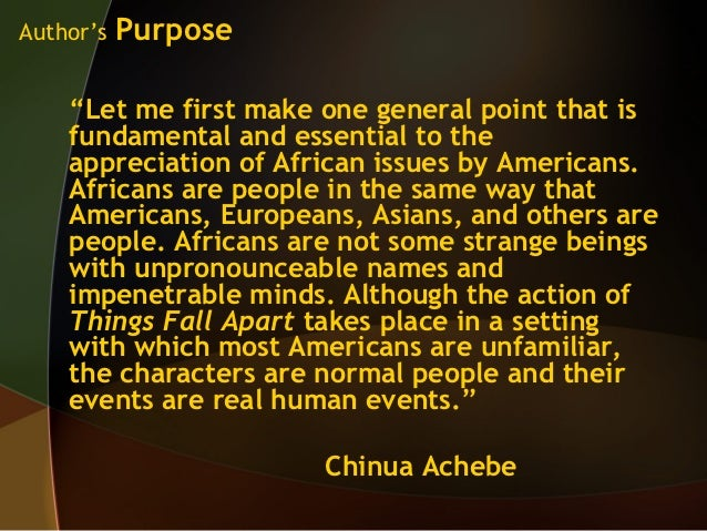 Achebes things fall apart the culture collision and its impact on okonkwo