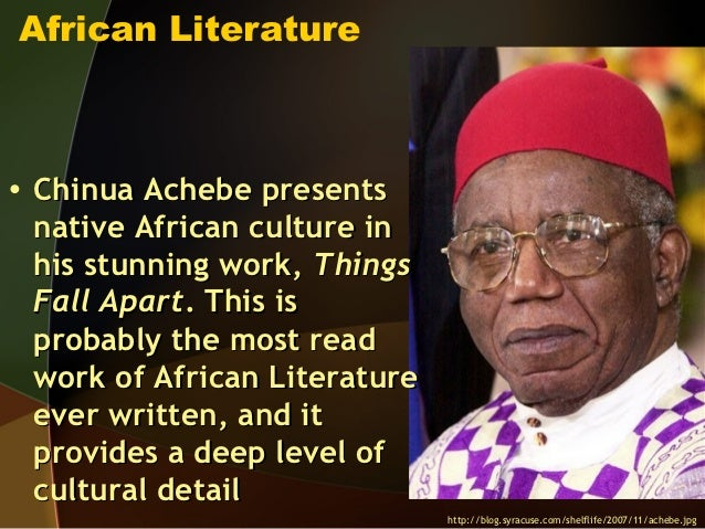 Igbo culture and society in Things Fall Apart by Chinua Achebe