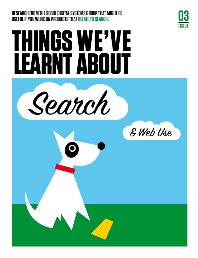 Things issue3 search