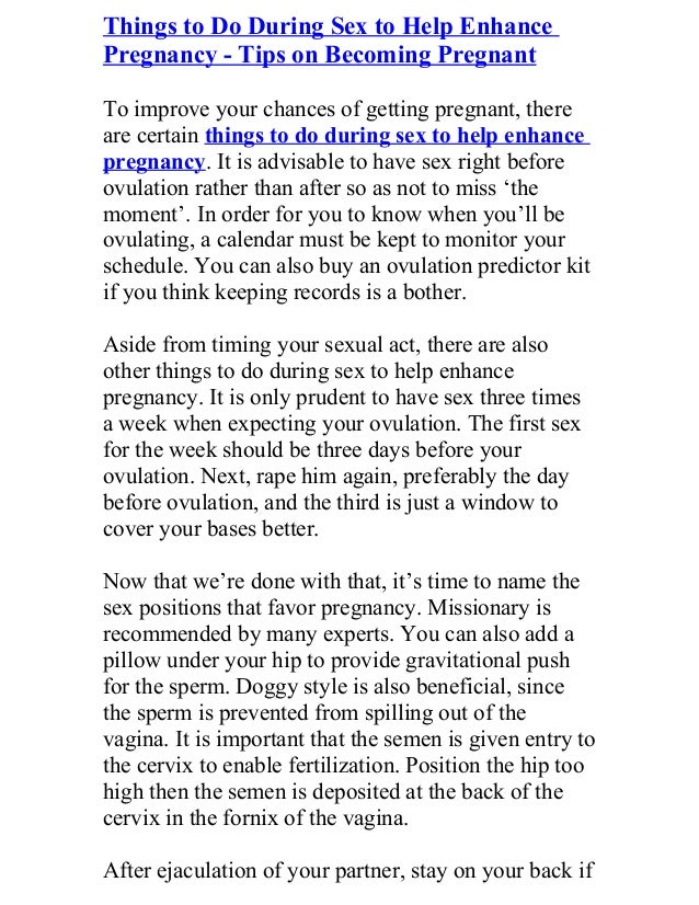 Freakiest things to do during sex