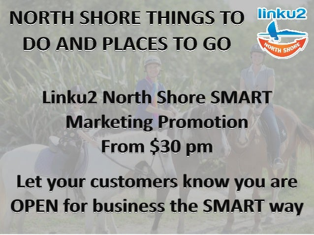 North Shore Things to Do and Places to Go Linku2 North Shore are currently updating our Visiting and Local Tourism section...