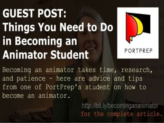Things You Need to Do in Becoming an Animator Student