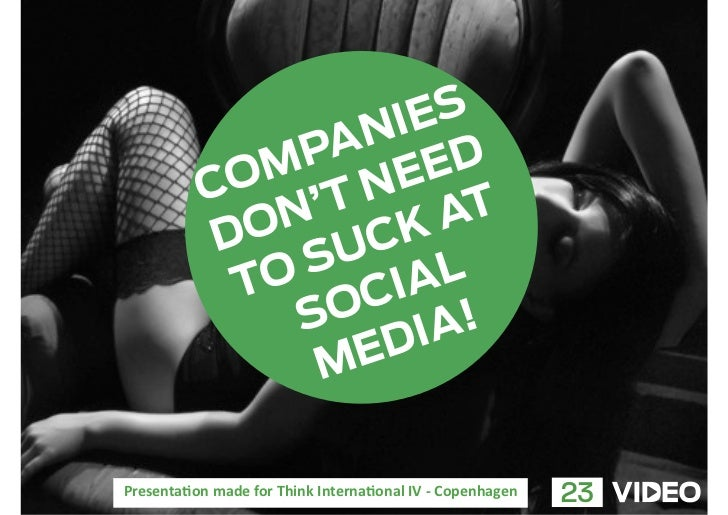 Companies don't need to suck at social media.