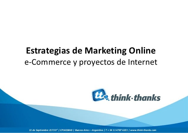 Think thanks presentacion-workshop