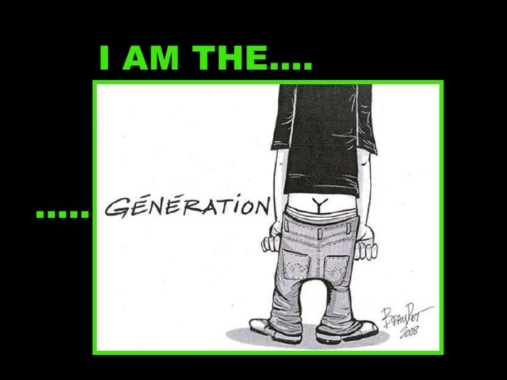 I AM THE…. .....