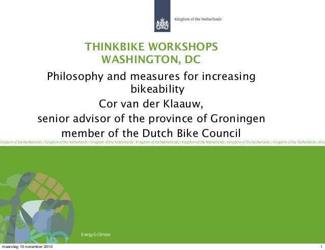 Opening session Thinkbike