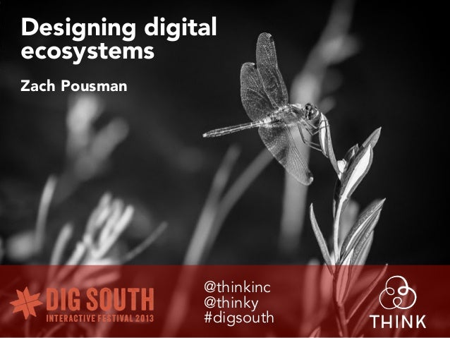 How to design digital ecosystems - User Experience for digital channels (THINK & Orkin case study)