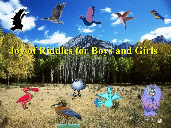 Joy of Riddles for Boys and Girls