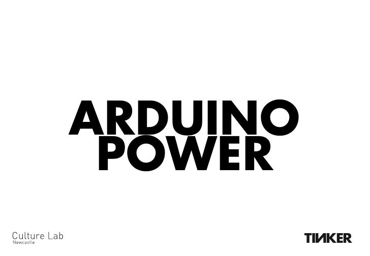 Arduino Power