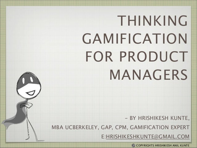 Thinking Gamification for Product Managers