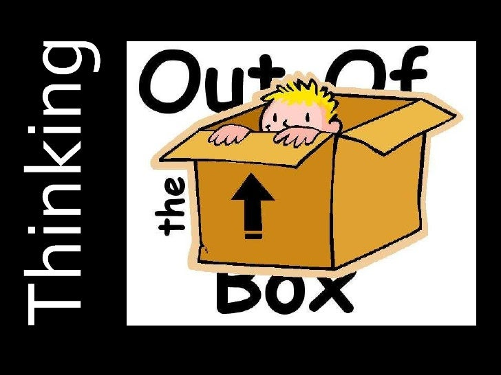 how to show that you think outside the box