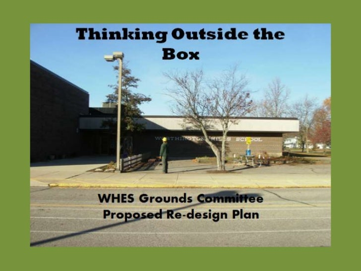 Thinking outside the box 5 25-11
