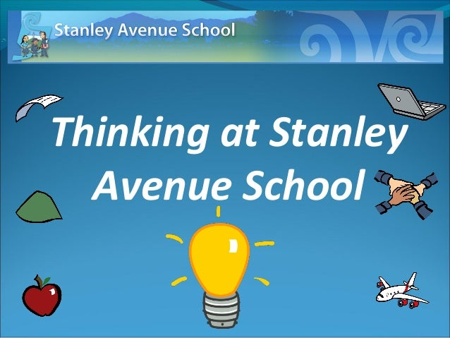 Thinking at Stanley Avenue School