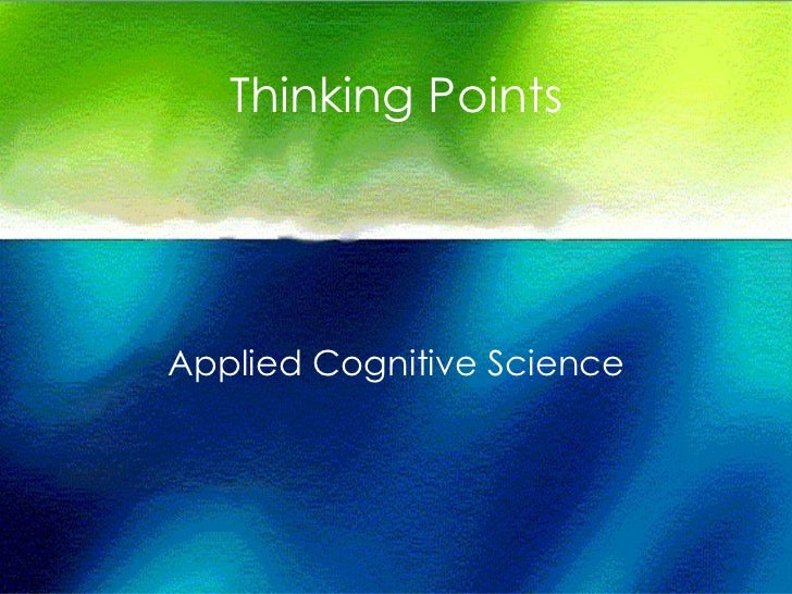 Thinking Points