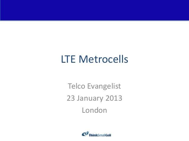 Telco evangelist 23 jan 2013