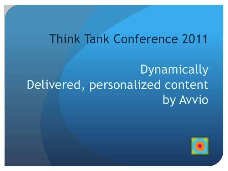 Think tank ddih