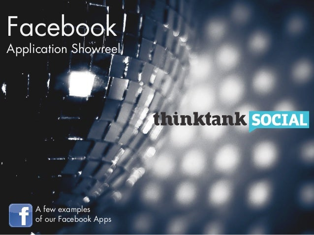 FacebookApplication Showreel     A few examples     of our Facebook Apps