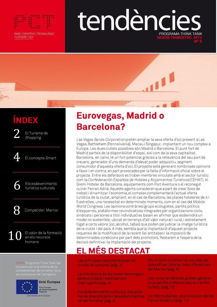 Tendències 9 - el butlletí sobre innovació i tendències en turisme