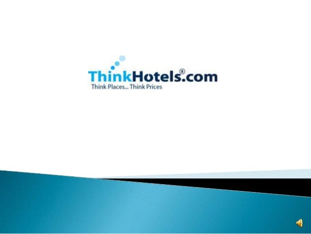 Think Hotels - Book Cheap Hotels Worldwide