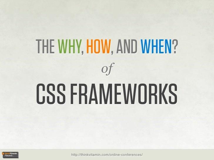 Think Vitamin CSS