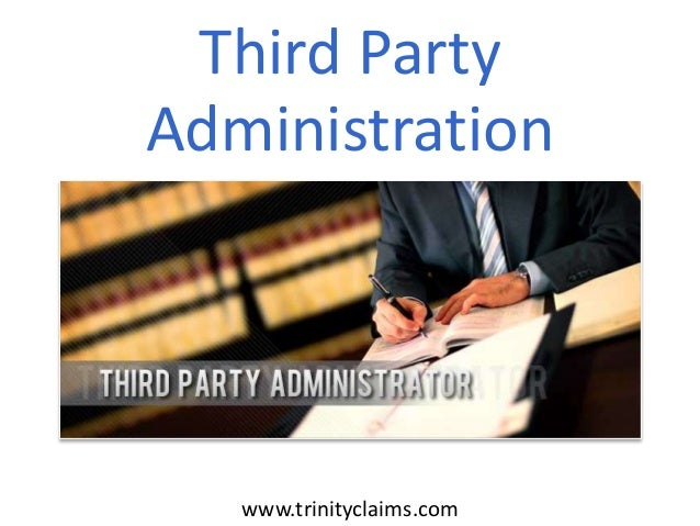 Third Party Administration  www.trinityclaims.com