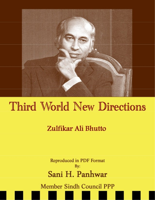 Third world-new-directions-bhutto