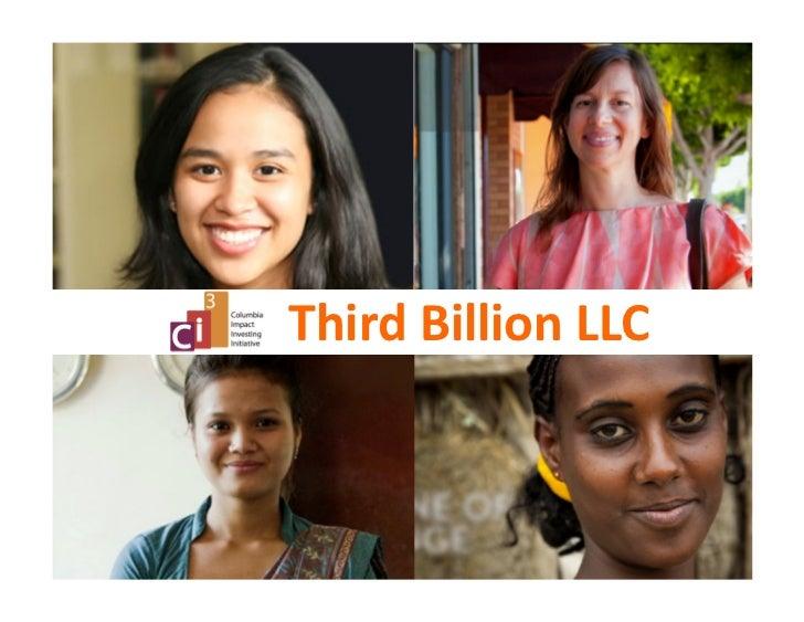 Third Billion Fund Proposal