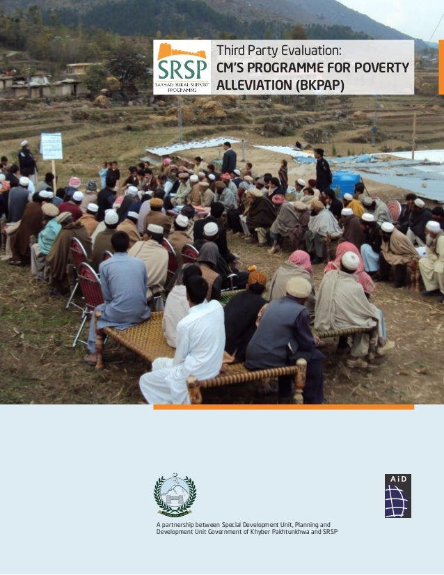 A partnership between Special Development Unit, Planning and Development Unit Government of Khyber Pakhtunkhwa and SRSP Th...
