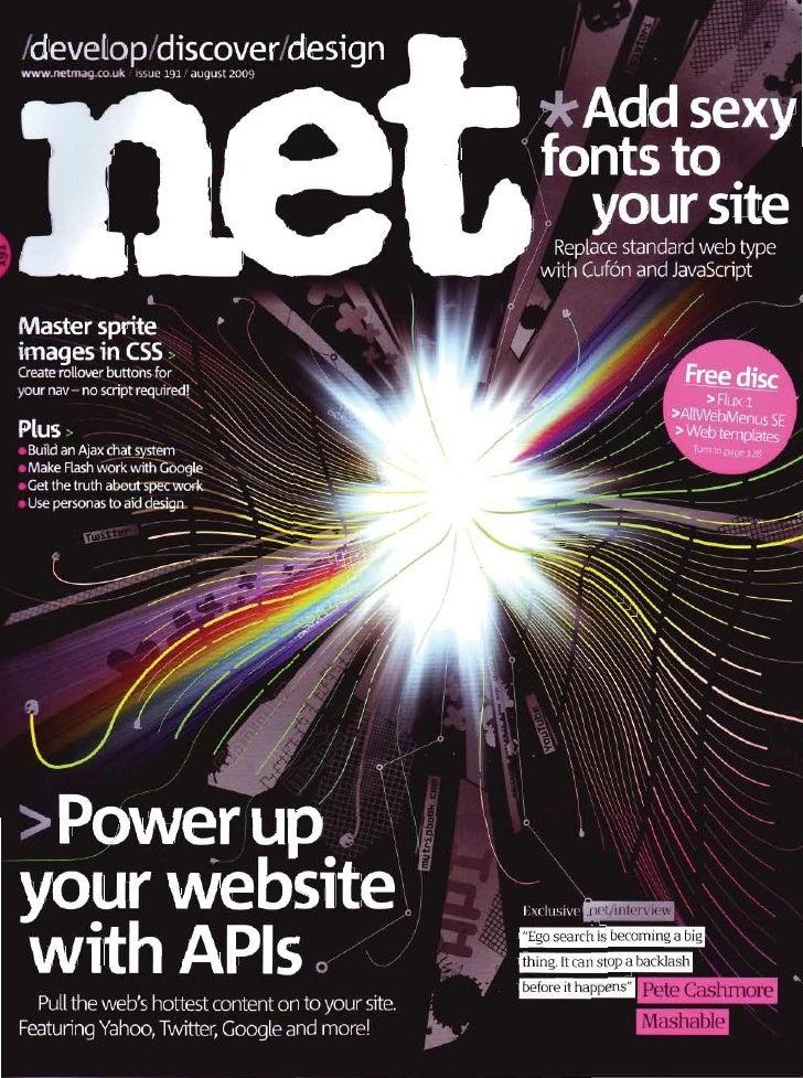 Net Magazine Aug 2009