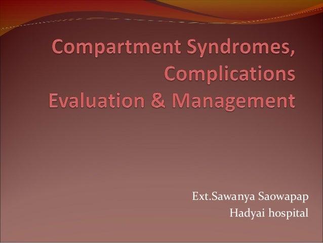 Ext.Sawanya Saowapap Hadyai hospital