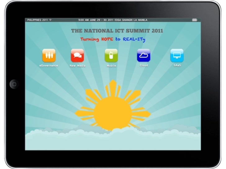 Welcome	  to	  the	  Na,onal	  ICT	  Summit	  2011.	  	  LoudWhistle	  Inc	  is	  honored	  to	  be	  here	  to	  share	  ...