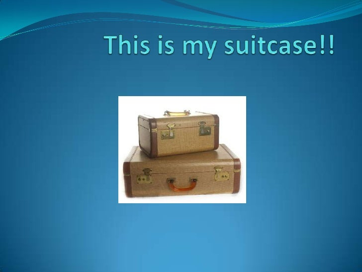 This is my suitcase!!<br />