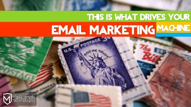 This is What Drives Your Email Marketing Machine