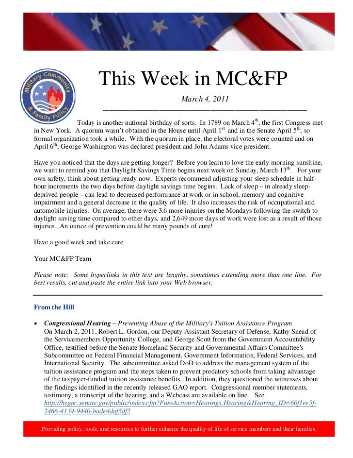 This week in mcfp march 4,  2011 (2)