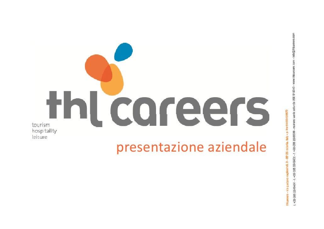 Thlcareers presentazione