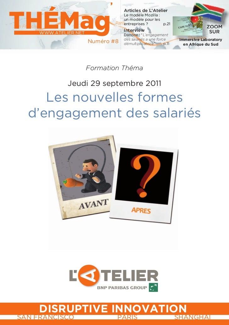 Thémag les nouvelles formes d'engagement des salariés