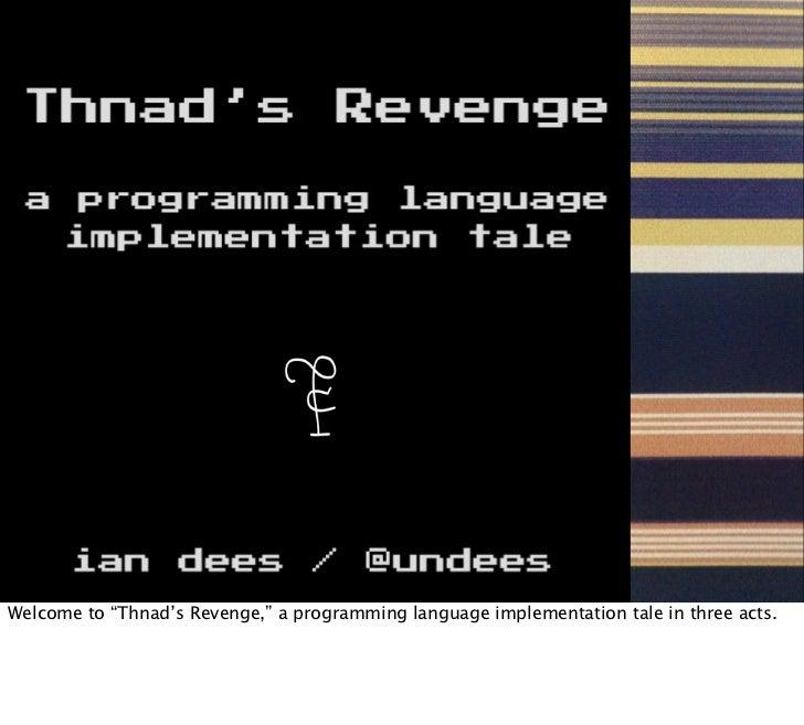 Thnad's Revenge