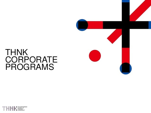 THNK CORPORATE PROGRAMS